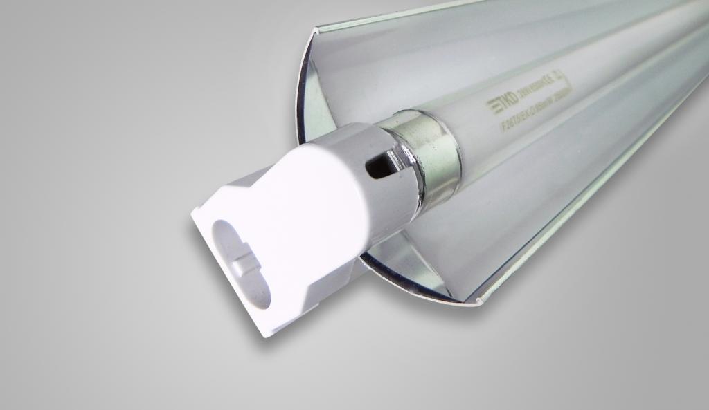 Đèn V-ENERTEK/ NDK-FL28WF với thiết kế chóa gương nổi trội